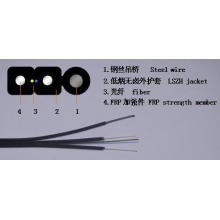 1 Core G657A FTTH Cable de descenso para exterior
