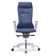 Fashion Design Swivel High Back Genuine Leather Ergonomic Office Chair