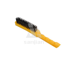 The Newest America Style Steel Wire Brush with Plastic Handle, Brush Steel Wire Brush Wire Brush (SJIE3130)
