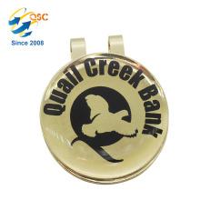 Custom Logo Printed High Quality Magnetic Golf Ball Marker Hat Clip