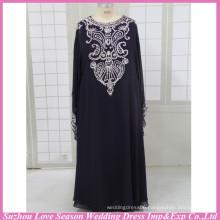 HE3005 Hot selling good handmade pattern dresses for muslim women evening dress for muslim women muslim bridesmaid dress