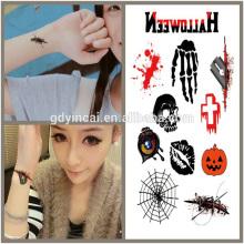 Темой Хэллоуина, конкурентоспособная цена поставкы татуировки