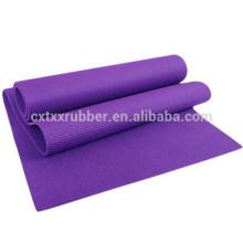 popular rubber material yoga mat, fitness sport yoga mat
