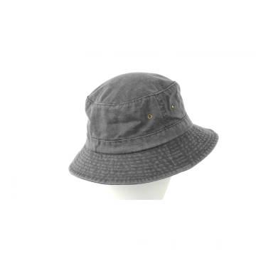 Chapeau de pêche de toile lavé par plaine / chapeau de pêcheur