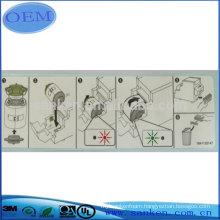 Professinal Manufacturer OEM Charger Label In Dongguan