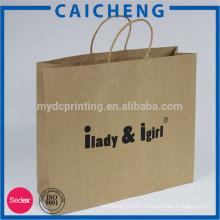 Reasonable price brown kraft paper bag for tea and food