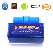 Mini Elm327 Bluetooth OBD2 V1.5 avance análisis de diagnóstico herramienta