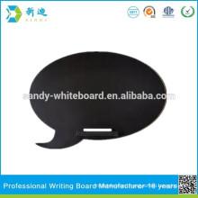 No framed slate board cloud shape