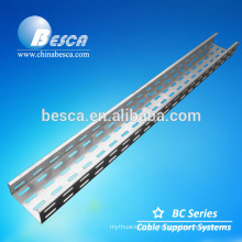 slotted pre-galvanized cable tray (UL and SGS)