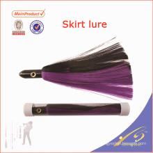 SKL012 Nueva falda de calamar de silicona señuelo de pesca de cebo artificial de diseño