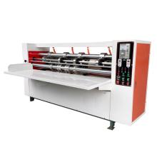 High Tech corrugated cardboard thin blade slitter cutter slitting creasing machine
