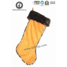 High Quality Fashion Camo Decoration Sock Bag with Customized Logo