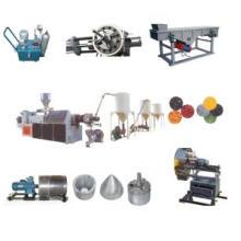 PVC Hot Cutting Plastic Recycling Machine Line