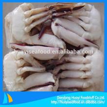 Prix de la moitié coupé premier taux congelé bleu natation crabe