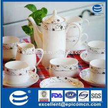 Новые костяные фарфоровые чайные чашки и чашки, набор из керамического чая оптом