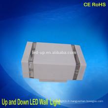 Bridgelux Chip 12W Led applique murale à écran plat LED plafond plafonnier haut et bas lumière