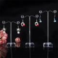 Werbung Acryl Ohrring Display Stand Pop Clear Acryl Stand