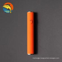Factory wholesale preheat vape pen battery 350mah cbd vape battery with custom color