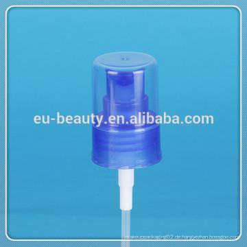 Kosmetik Nebel Sprayer 24/410 Feinnebel Sprühpumpe blau Kunststoff