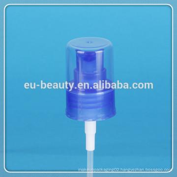 Cosmetic Mist Sprayer 24/410 fine mist spray pump blue plastic