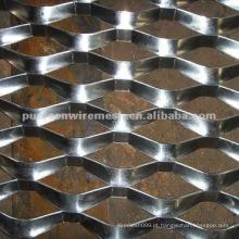 Placa de alumínio placa de malha expandida
