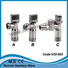 Chrome Plated Angle Valve (V22-003)