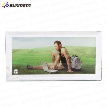 Sublimação Heat Press Glass Photo Frame