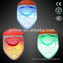 Máscara de piel llevada belleza de la piel de 3 colores
