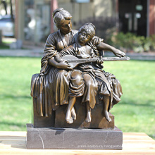 Mother And Child Bronze Sculpture