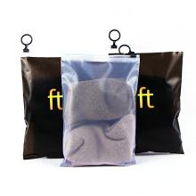 Plastic Apparel Bags Zipper Packing Clothing  Clothing Package Zipper Small Packing Bags For Garment Sock