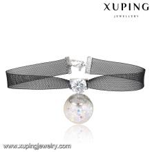 00132-accesorios de joyería de moda simple para mujeres, gargantilla collares de encaje