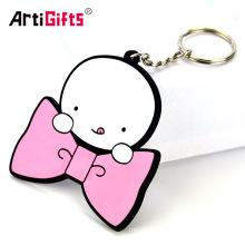 Keychain Maker Wholesale Custom Cheap Cute Soft Pvc Doll Keychains No Minimum