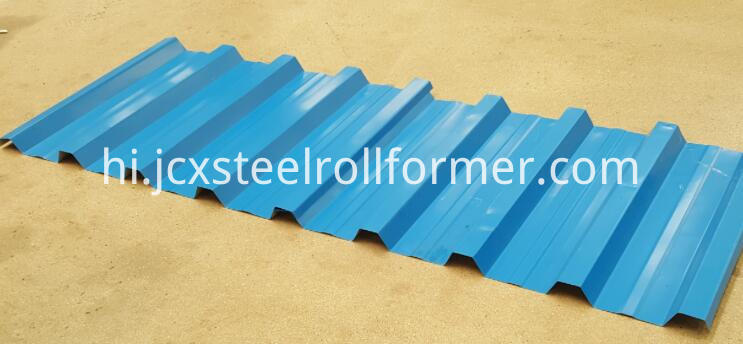 IBR roofing sheet