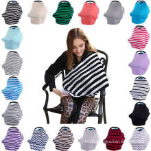 Hot selling baby car seat cover canopy breast feeding cover nursing scarf