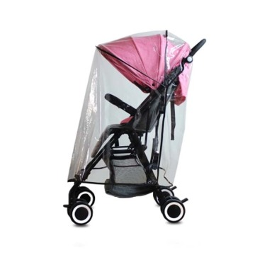 Universal Single Stroller Waterproof Rain Cover / Wind Shield
