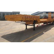 3-Axle Gooseneck Low Bed نصف مقطورة