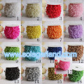 57M/Roll 3+8MM Fishing Line Pearls Chain Pearl Beads Chain Garland Wedding Decoration