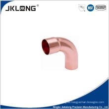 J9019 Kupfer 90 Grad große R Ellenbogen 1 Zoll Kupfer Rohrverschraubung