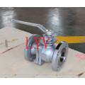 Полнопроходной Фланцевый 3шт фиксированный шаровой клапан с хорошим качеством и хорошим ценой