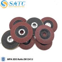 China Fabricante 4 '' * 5/8 '' Flap Disc abrasivo com alta qualidade