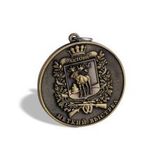 Металлическая медаль на заказ, медаль организационного обеспечения безопасности (GZHY-KA-023)