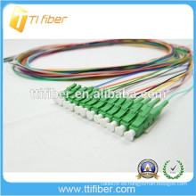 LC / apc fibra óptica Pigtail 0,9 mm