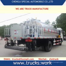 15000liters carbono aço asfalto betume transporte caminhão-tanque