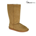 Mulheres Classic Sheepskin High Boots