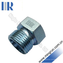 Conector hidráulico do tubo do adaptador da tomada hidráulica masculina métrica (4D)