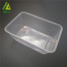 Plateau en plastique transparent FDA et congélateur
