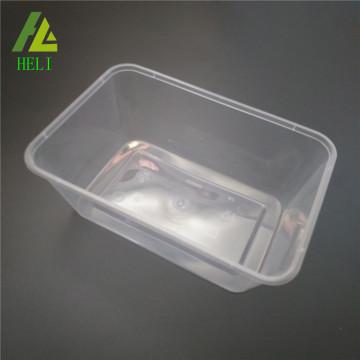 FDA- und Gefrierschrank-sichere durchsichtige Plastikschale