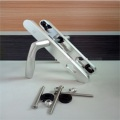 Aluminum Double Sided Key Door Handle Lock Set