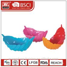 Bunte PP Kunststoff-Schale