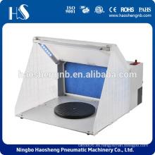 2015 haosheng nueva cabina de spray portátil cabina de rociado con luz